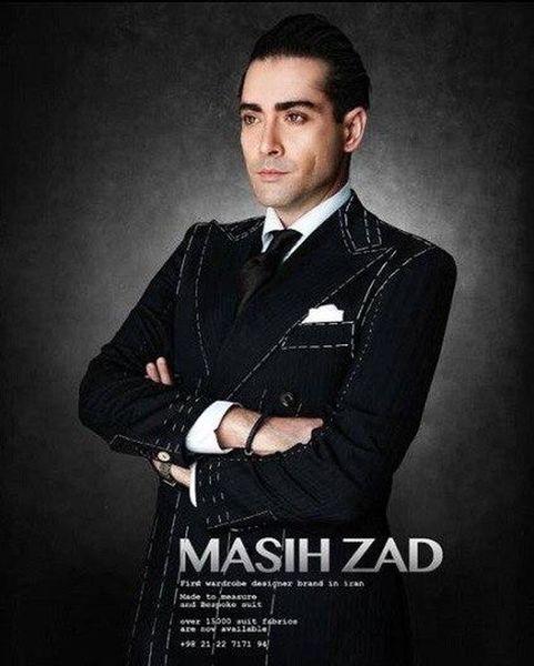 مسیح زاد / Masih Zad تنها متخصص شخصی دوزی لباس آقایان در ایران