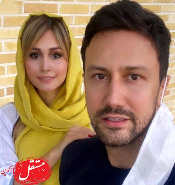 سوتی جنجالی شاهرخ استخری و همسرش در لایو غوغا به پا کرد + فیلم