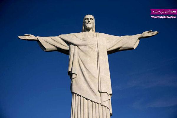 مسیح نجات دهنده، ریودوژانیرو، برزیل،