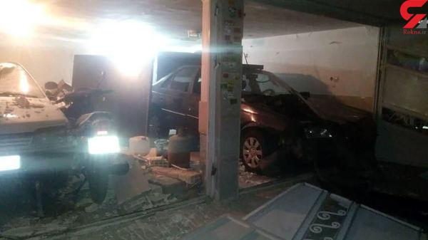 انفجار مهیب در زنجان + عکس تلخ از خانه های خراب شده