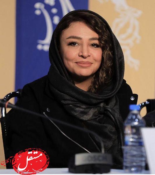 همسر جواد عزتی در نشست خبری فیلم جدیدش + عکس