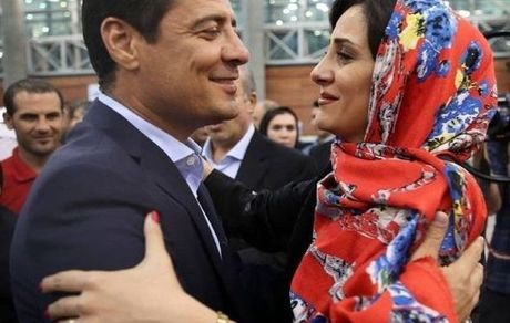 عکس جنجالی علیرضا فغانی در آغوش همسرش + بیوگرافی و تصاویر جدید
