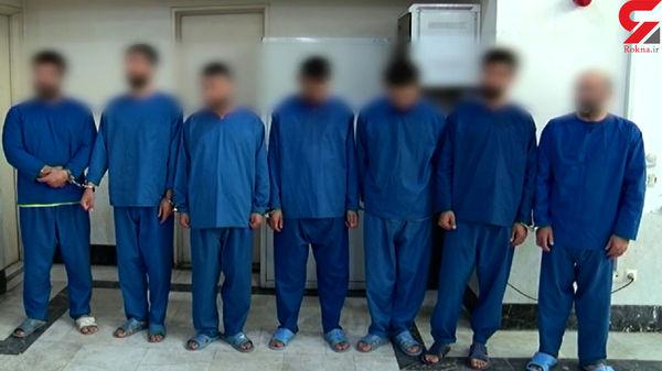 اجاره 7 تبهکار برای ربودن شوهر پولدار در نیاوران / فرنوش بازداشت شد + عکس