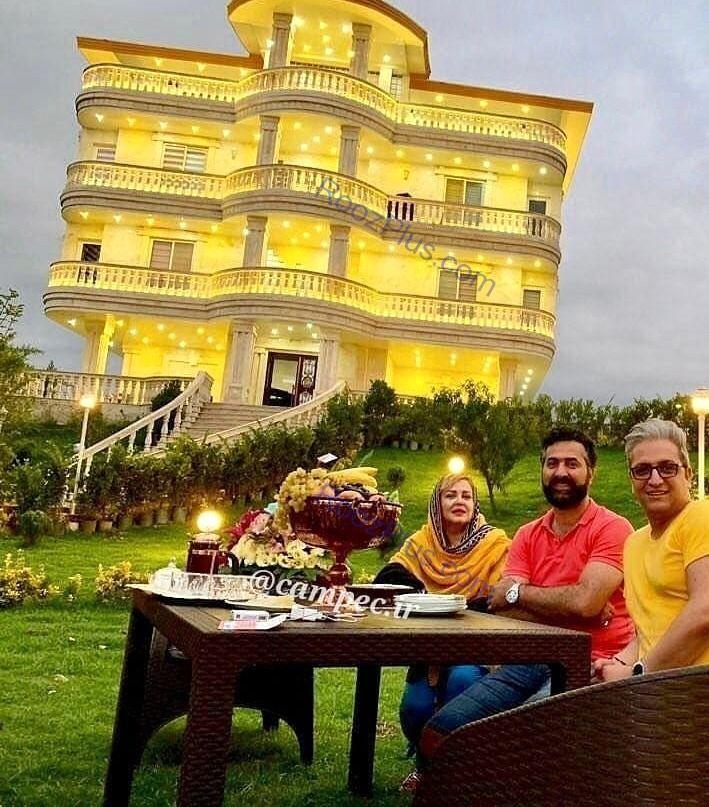 نتیجه تصویری برای ویلای لاکچری بهاره رهنما و همسرش+عکس
