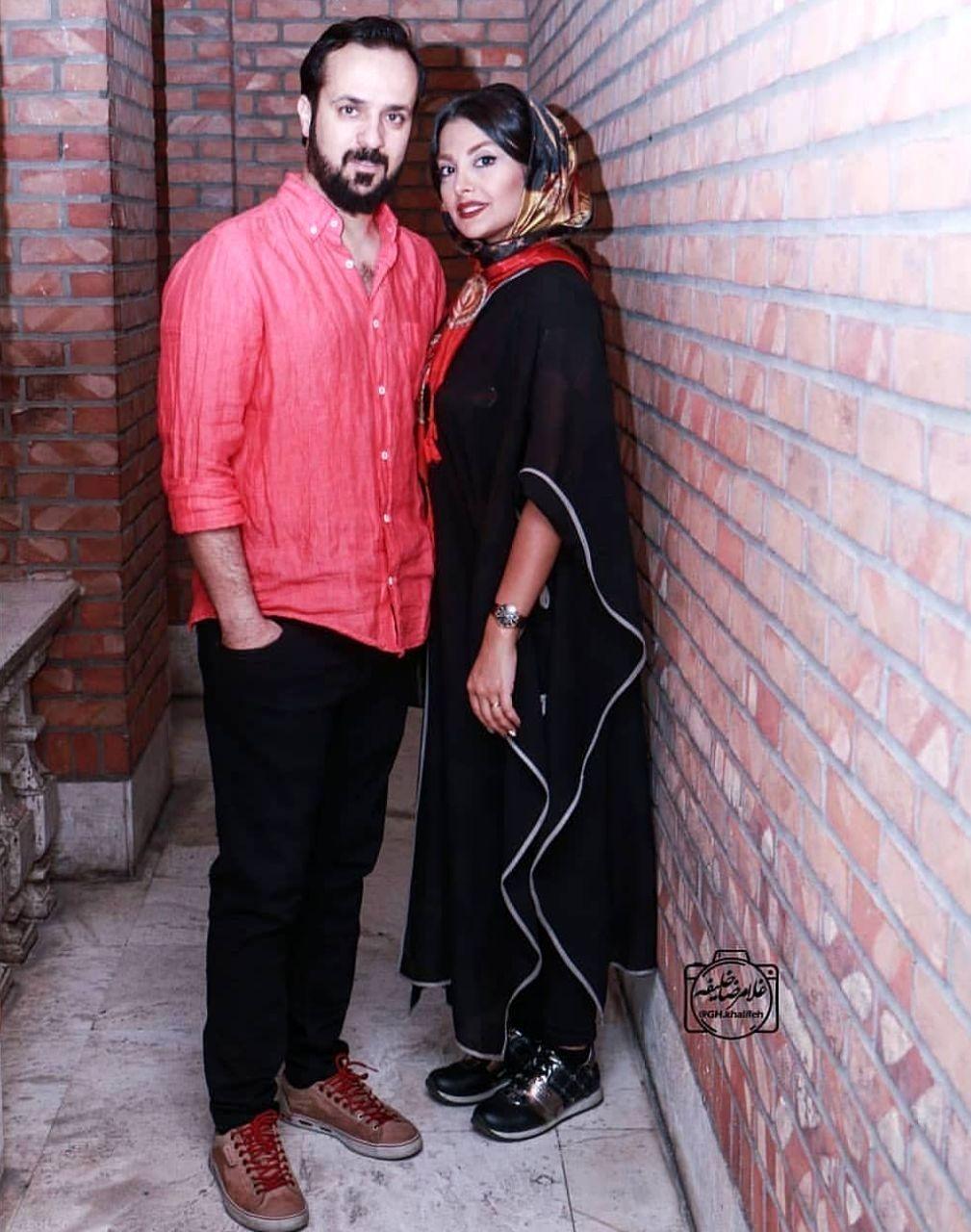 جدیدترین تصویر از احمد مهرانفر به همراه همسرش +عکس