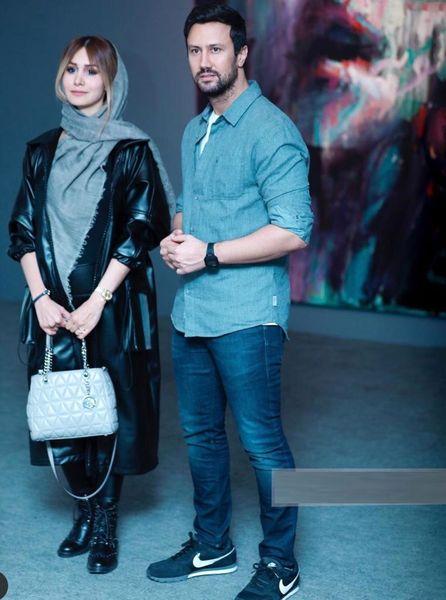 همسر شاهرخ استخری مدل شد + عکس و بیوگرافی