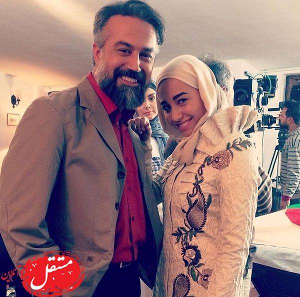 دانیال حکیمی و دخترش + عکس