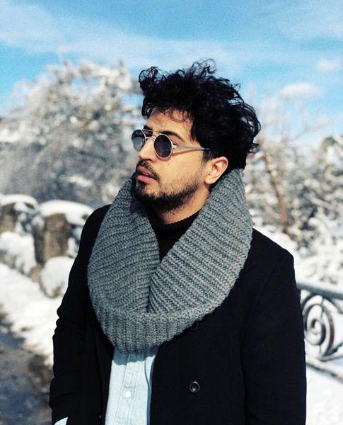استایل زمستونی مهرداد صدیقیان + عکس