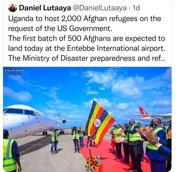 آمریکا پناهندگان افغانستانی را به اوگاندا فرستاد!