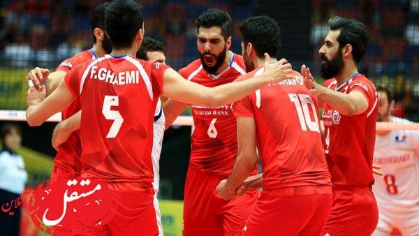 ساعت و زمان پخش والیبال ایران - فرانسه