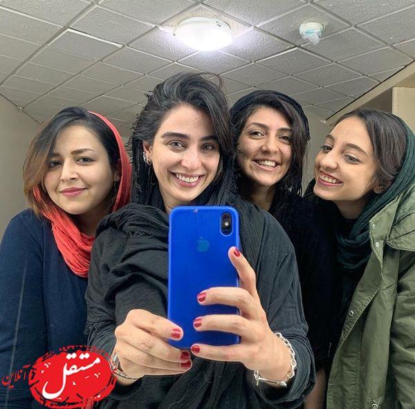 سلفی آناهیتا افشار با دوستانش + عکس