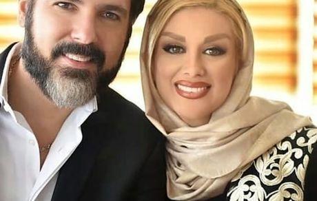کوروش تهامی عزیز و همسرش + عکس