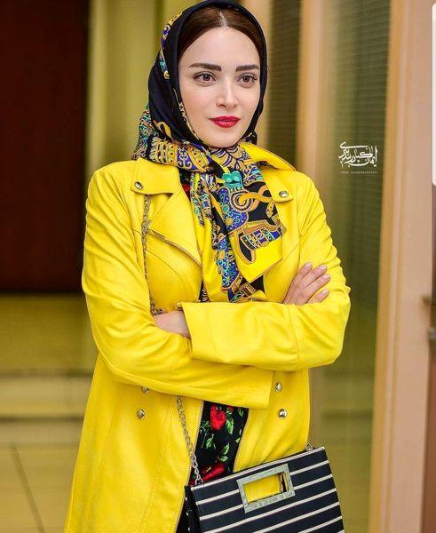 بهنوش طباطبایی در بغل محمدرضا گلزار + عکس و بیوگرافی