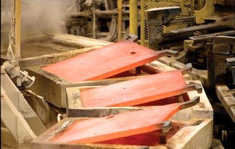تولید اولین شمش مس در لحظه آزادی خرمشهر
