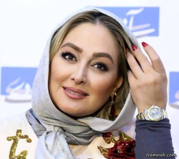 عکس دیده نشده الهام حمیدی و همسر پولدارش + عکس