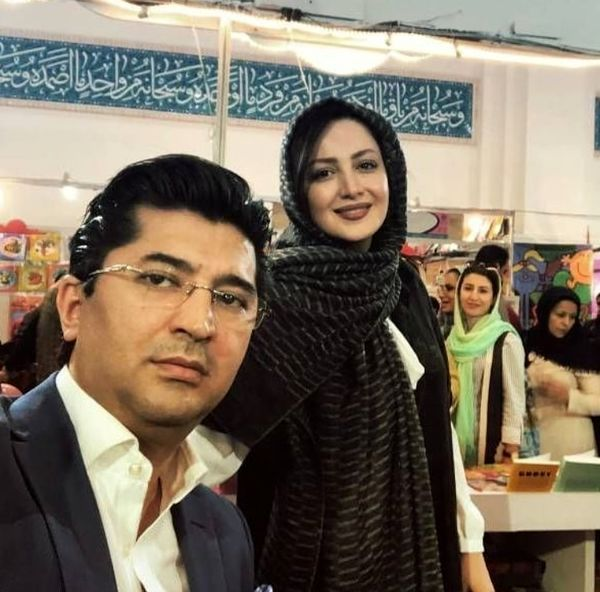 شیلا خداداد در کنار همسرش + عکس