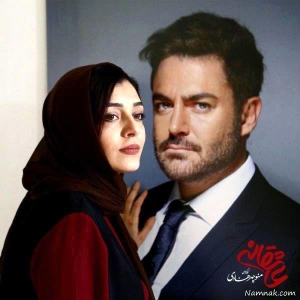 محمدرضا گلزار و ساره بیات در سریال عاشقانه