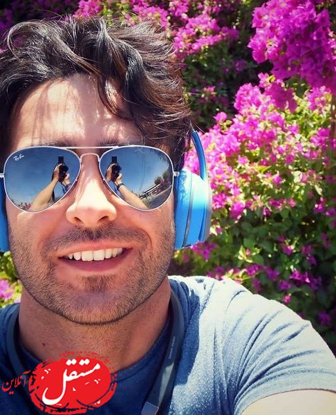 سلفی گل گلی امیرحسین آرمان + عکس