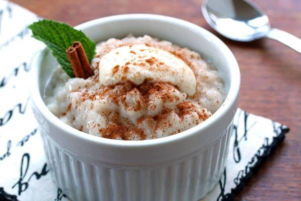 ۲دستور تهیه شیر برنج نذری مجلسی و ساده+نکات مهم آب ننداختن شیر برنج