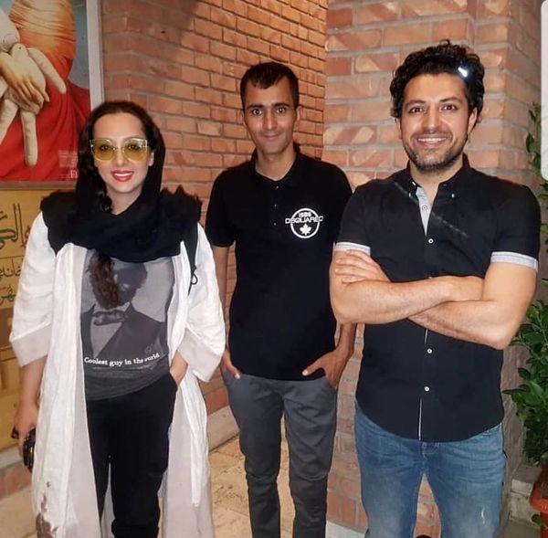 همسر اشکان خطیبی، عروس سابق علی پروین + عکس