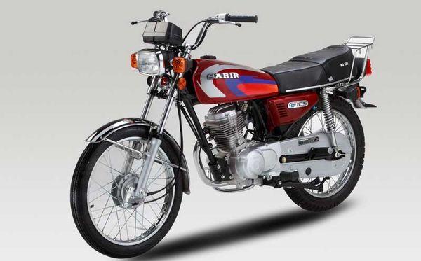 قیمت انواع موتورسیکلت پنجشنبه ۱۶ مرداد