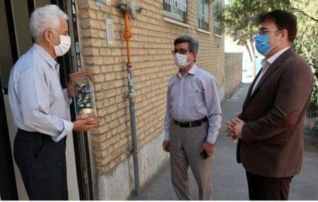 دیدار حضوری مدیر صندوق بازنشستگی استان سمنان با تعدادی از پیشکسوتان