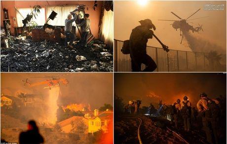 آتشسوزی در جنوب کالیفرنیا