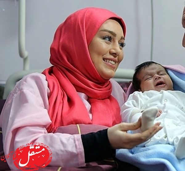 بچه داری سحر قریشی در بیمارستان + عکس