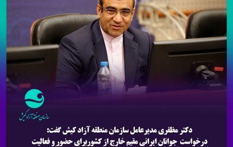 درخواست ایرانیان مقیم خارج برای حضور در مرکز نوآوری کیش