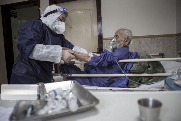 تعداد بیماران کرونایی که در ۲۴ ساعت گذشته در تهران بستری شدند