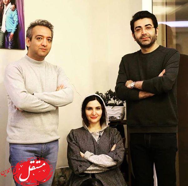 فرزاد حسنی و دختر بازیگر مشهور + عکس