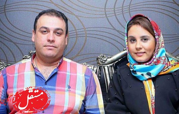 دختر اکبر عبدی و همسرش در کنار هم + عکس