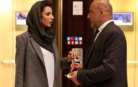 لیلا حاتمی و آقای بازیگر در هتل + عکس