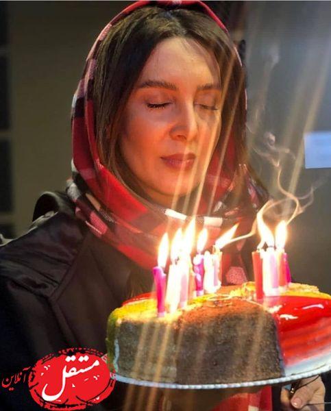 لیلا بلوکات و کیک تولد خاصش + عکس