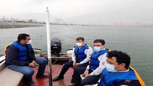 عملیات جستجوی تمساح در دریاچه چیتگر آغاز شد