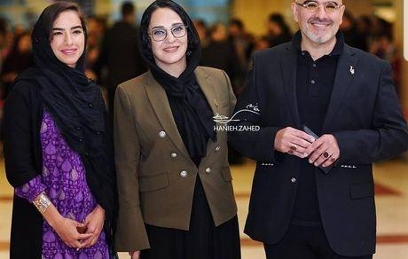 دختر رویا نونهالی در جشن حافظ + عکس