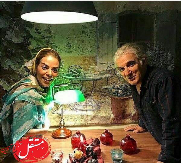 عکسی جدیدی از مهدی هاشمی و همسر دومش