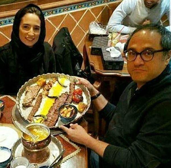 رامبد جوان و همسرش در رستوران + عکس