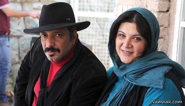 ریما رامین فر و همسرش