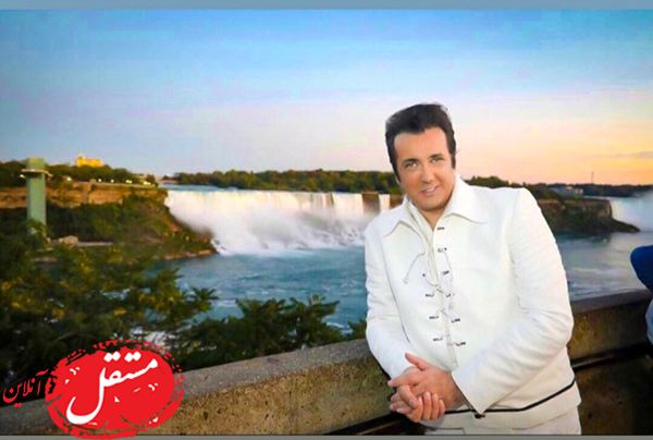 تیپ خفن حسام نواب صفوی در خارج از کشور