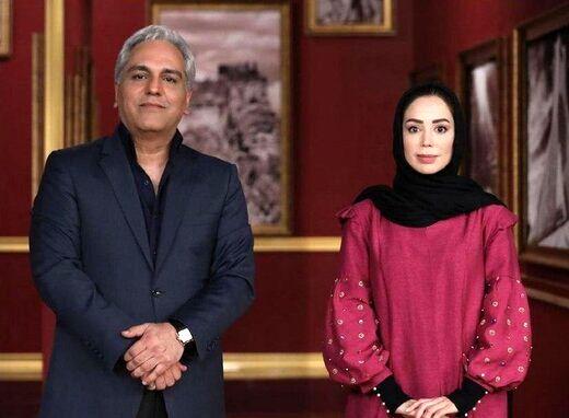 حمله مهران مدیری به سحرقریشی در دورهمی+ فیلم و عکس