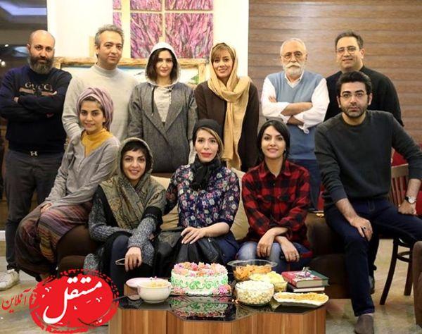 فرزاد حسنی در جمع دوستانش + عکس
