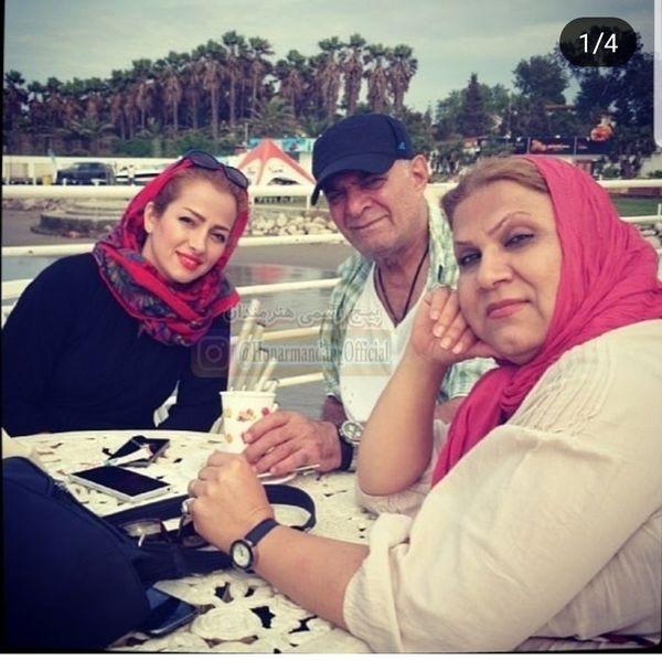 سیروس گرجستانی و همسر و عروسش + عکس