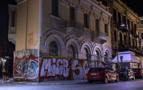 افزایش نقاشی های گرافیتی در خیابان های آتن