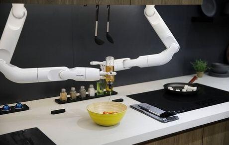 استفاده از رباتهای هوشمند چند منظوره برای آشپزی آسان