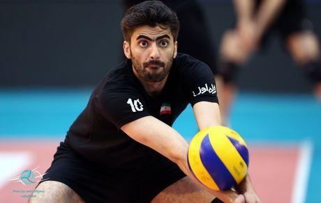 امیر غفور والیبالیست ایرانی به کرونا مبتلا شد