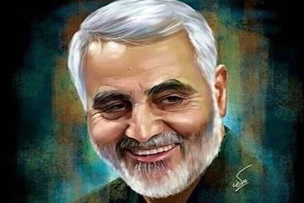 اولین تصویر سنگ مزار سردار شهید سلیمانی