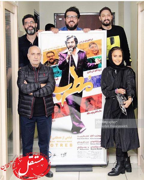 بازیگران مطرب در اکران خصوصی + عکس