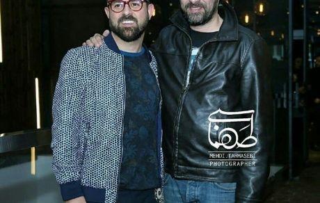 هومن سیدی و شهاب حسینی دو اسطوره سینمای ایران در کنار هم + عکس