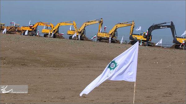 ساخت اصطبل و غسالخانه در ازای انتقال آب دریاچه خزر به سمنان
